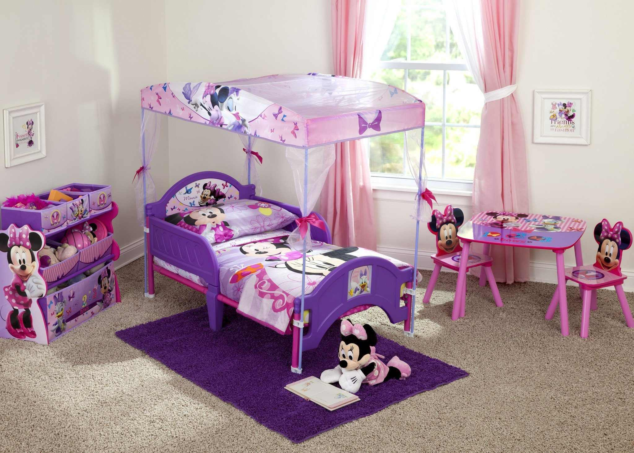 Minnie Mouse Princess Schlafzimmer
