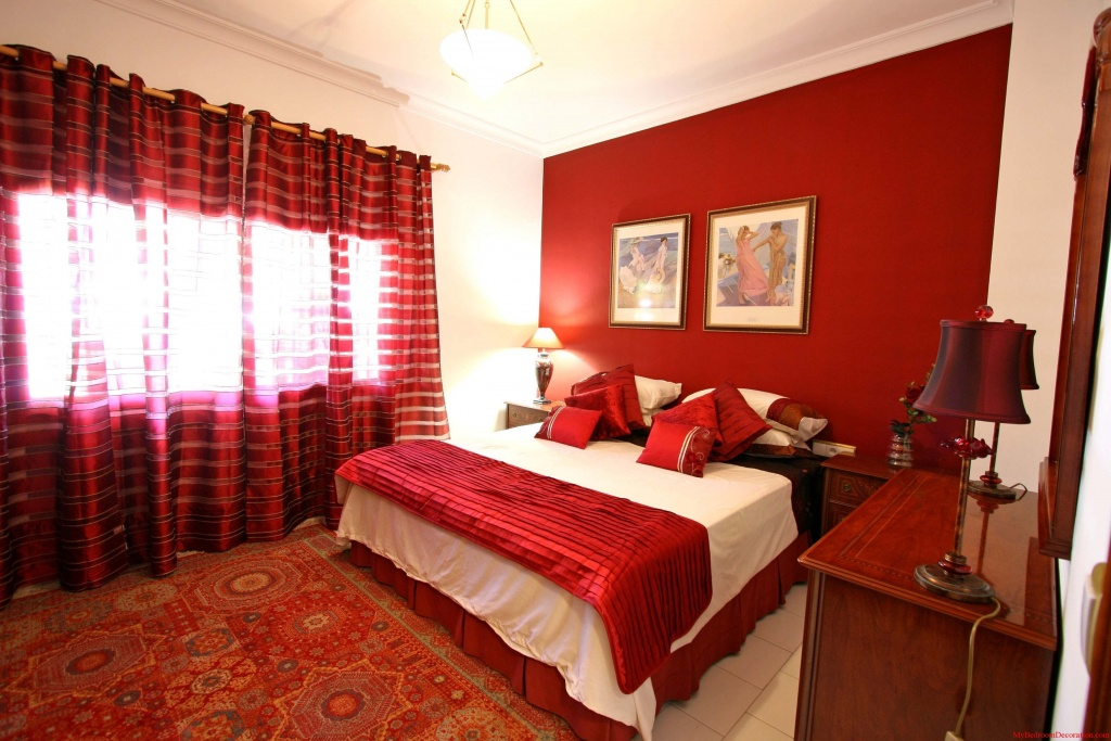 Top rotes Schlafzimmer