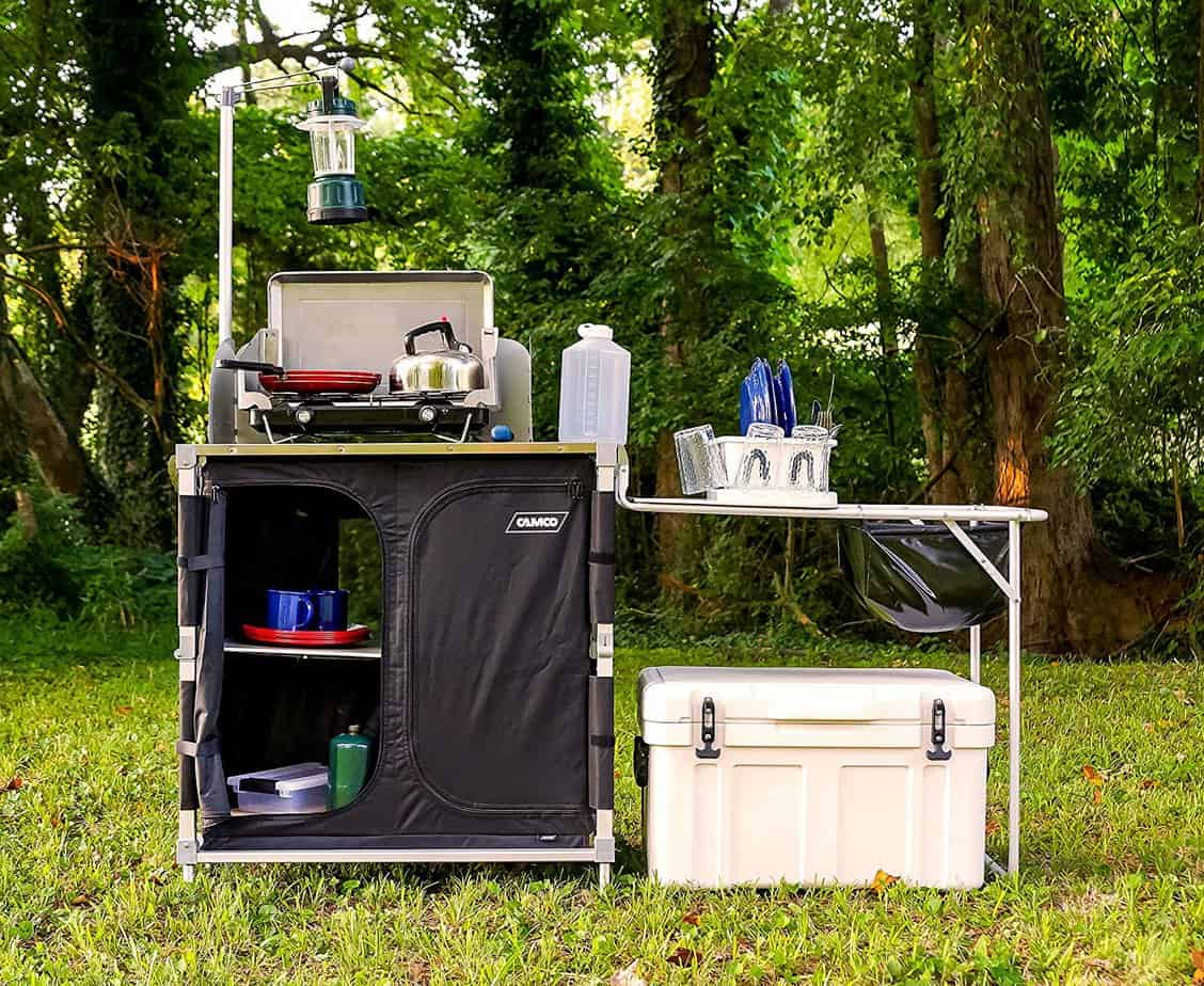 Clevere Outdoor-Campingküche